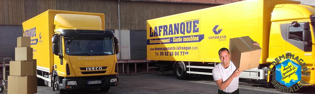 Demenagements lafranque transports et garde meubles hautes for Garde meuble midi pyrenees